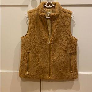 J. Crew Sherpa Fleece Vest